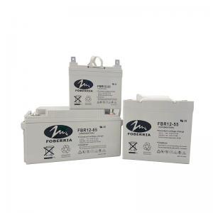Best FOBERRIA CE 12V33Ah 12V38Ah High Capacity Gel Lead Acid Battery wholesale
