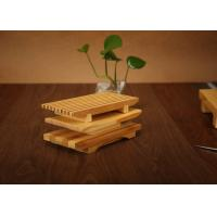 Best Bamboo Sushi Serving Tray Plate , Eco Friendly Bamboo Sushi Decoration Table wholesale