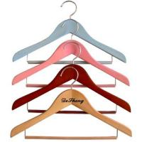 China Child wooden hangers No. DS-712 on sale