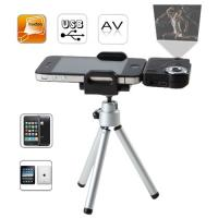 Details of portable multi media pico mini projector for for Mini projector for iphone and laptop