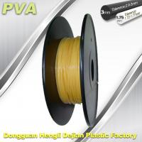 Cheap Water Soluble Support Material PVA 3D Printing Filament 1.75 / 3.0 mm Natural for sale