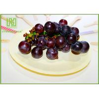 Best Natural Color Wooden Dinner Plates , Eco Friendly Wooden Party Plates For Pizza wholesale