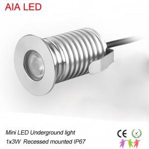 Best 60degree beam angle 3W mini LED underground light/LED Step light/LED Buried lamp wholesale