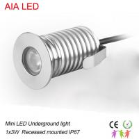 Best 1x3W mini LED underground light/LED Step light/LED Buried lamp for outdoor used wholesale