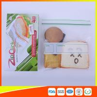 Best Food Stroage Plastic Sandwich Bags LDPE / Zip Up Storage Bags For Supermarket wholesale