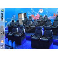 Cheap Entertainment Motion Leather Theater Chairs For Big XD Theater With Eletronic System for sale