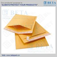 Best BETA Golden Kraft Bubble Mailer #0 Ecolite Mailers With Strong Adhesive Tape wholesale