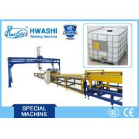 Buy cheap IBC Tank Tubular Mesh Welding Machine 300A with Automatic Unloading System from wholesalers