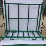 Best Spray Paint Finish Defensive Barrier A Frame Rack Glass Storage Racks wholesale