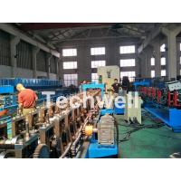 Best 18 forming stations Auto Changeover Cable Tray Roll Forming Machine with PLC Electrical Control wholesale