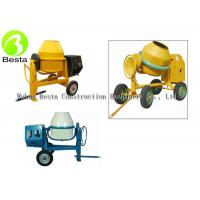 China 2 Wheel Manual Tipping Mobile Concrete Mixer or Cement Mixer with 450 Liters Drum on sale