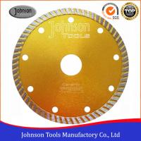Best 125 Mm Sintered Turbo Hot Press Diamond Cutting Blades For Tiles GB Standard wholesale