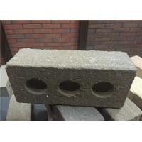 Best Turned Color Perforated Clay Bricks , Brick Veneer Exterior Siding Low Water Absorption wholesale