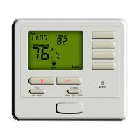 China Single Stage Air Conditioner Digital Temperature Controller Heating Thermostat with Battery on sale