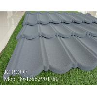 Best Colorful Stone Chip Coated Metal Roof Tiles / Steel Roofing Tile Sheet For Philippines wholesale