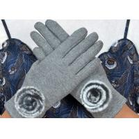 Best Warm Super Soft Phone Friendly Gloves , Texting Winter Gloves With Smart Touch  wholesale