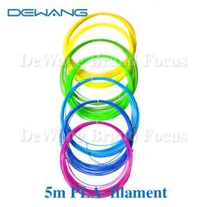 Cheap 21 Color 5M PLA 3D Printer Filament 1.75mm For 3D Printing Pen Doodle for sale