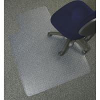 China Durable Hard Surface Studded Chair Mat Non Slip Floor Mat For Commercial Building on sale