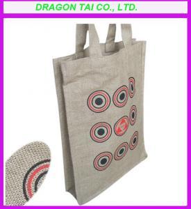 China Promotional  linen bags, linen handbags, linen shopping bag on sale