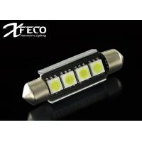Details of auto interior car led dome light bulbs 12v with non polarity canbus 5050 led 41mm for Interior car light laws california