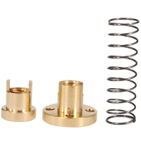 Best Lead 8mm Pitch 2mm Anti Backlash Spring For 3D Printer T8 Lead Screw wholesale