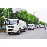 Best china 10 tons garbage street sweep cleaning truck with high pressure washing system wholesale