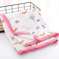 Best Reusable Baby Swaddlers Blankets , Newborn Muslin Wraps 100 Percent Natural wholesale