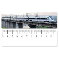 Best Eco - Friendly Custom Printed Plastic Rulers / 3D Printing Service With Railway Pattern wholesale