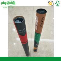 Best Long Large Cardboard Postal Packaging Tubes 100% Recycled For Shipping wholesale