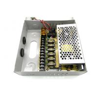 China 9 Channel CCTV Camera Power Supply , 12V 5Amps CCTV Power Supply Box on sale