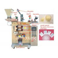 China Spice Granule Packaging Machine For Plastic Pouch Seeds , Sugar Packing Machine on sale