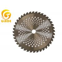 China 25cm 40 Teeth Round Brush Cutter Blades Alloy Steel Garden Tools Spare Parts on sale