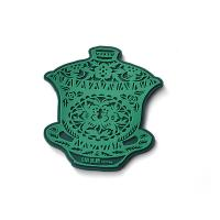 Best Chinese Style Custom Rubber Drink Coasters Promotional Products Cup Shapes wholesale