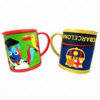 Best Promotional 3D PVC Mugs, New Fashionable Style and Soft wholesale