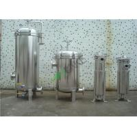 Best Multi Cartridge Stainless Steel Water Filter Housing SS304 SS316 For Water Treatment wholesale