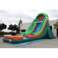 Best car style large inflatable slide for kids and adults wholesale