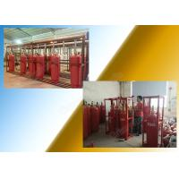 Best Chemical FM 200 Fire Suppression System Of 120L Type Cylinder wholesale
