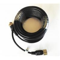 Cheap Commercial Vehicle Backup Camera Extension Cable , 6 PIN MiniDin Extension Cables for sale
