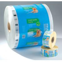 Best PET laminated LDPE Printed Laminating Film Roll , Moisture Proof Good Barrier Plastic Film Rolls wholesale