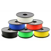 Best 1.75mm 3D printing filament materials Red / Black , 3D printer ABS filament wholesale