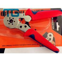Best 180mm Hand Crimping Tool 24-10 AWG , MG-8-6-6 Carbon Steel Non Insulated Crimping Pliers wholesale