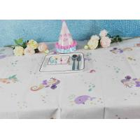 Best Printed Biodegradable Paper Tablecloth For Children Birthday Decoration wholesale