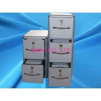 China Aluminium CD DVD Storage Box , Light Weight Aluminum Hard CD Case With Drawers on sale