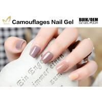 Best No Nicks No Chips Camouflage Nail Gel Builder For Natural / False Nails wholesale