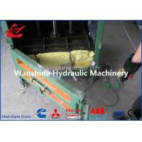 10 Ton Waste Paper Baler Auto Recycling Equipment 3 Phase 220 Volts