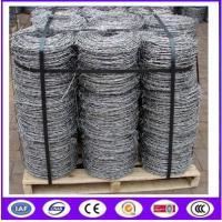 Buy cheap strong barbed wire for playground/ sharp barbed wire for prison from wholesalers