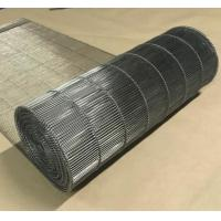 Best Stainless Steel Flat Flex Wire Mesh Conveyor Belt For Drying And Cooling wholesale