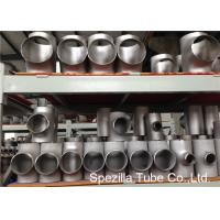 China SS Pipe Fittings 1/2'' - 24''  Straight Tee , Butt Weld Stainless Steel Pipe Fittings on sale