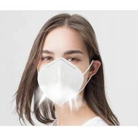 Best Disposable Non Woven KN95 Face Mask Foldable For Dusty Operations wholesale