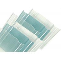 Best 2mm Corrugated Polycarbonate Sheets , Clear Corrugated Plastic Roof PanelsUV Protected wholesale